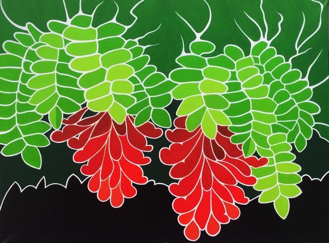 Bonaire schilderij fertilidat dichterlijke natuur - Schilderij ingang en gang ...