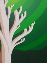 Bonaire schilderij: Boom