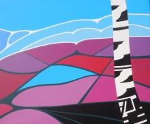 Dwingelderveld 2, acryl op doek, 50 x 60 cm