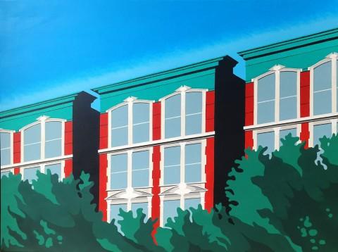 New York schilderij: South Harlem (1)