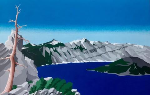Overige schilderijen: Crater Lake