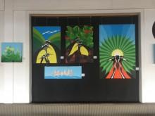 een tweede van de vier groepen schilderijen